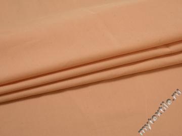 Плательная персиковая ткань полиэстер ЕА514