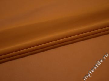 Шифон однотонный оранжевый полиэстер ГБ2116