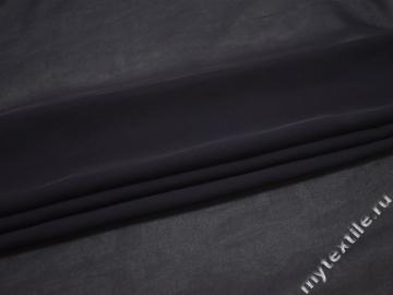 Шифон темно-фиолетовый полиэстер ГБ368
