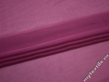 Шифон фиолетовый полиэстер ГБ374