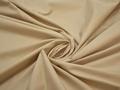 Рубашечная бежевая ткань хлопок полиэстер БВ1121
