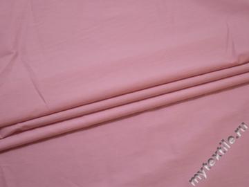 Хлопок с эластаном розовый БВ2107