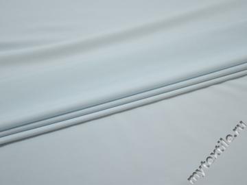 Плательная голубая ткань полиэстер эластан БА475