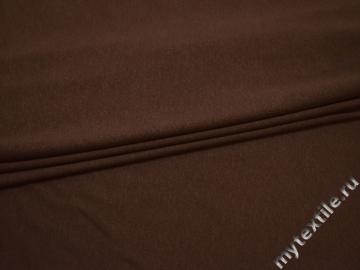 Трикотаж коричневый вискоза хлопок АЁ251