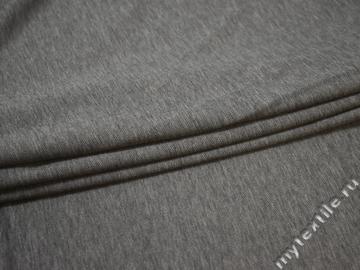 Трикотаж серый вискоза хлопок АЁ250