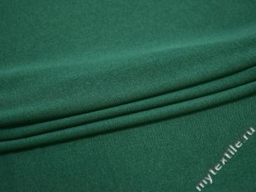Трикотаж зеленый хлопок АЁ247