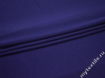 Трикотаж фиолетовый вискоза хлопок АЁ234