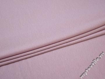 Трикотаж розовый хлопок вискоза АЁ217