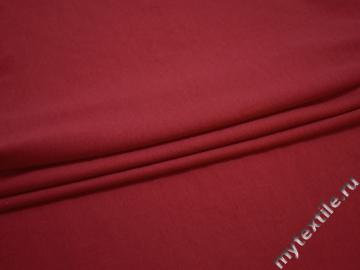 Трикотаж красный хлопок АД450