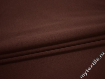Трикотаж коричневый полиэстер АД344