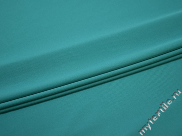 Трикотаж бирюзовый полиэстер АД440