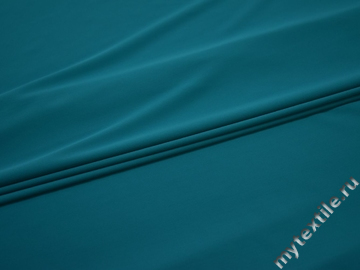 Трикотаж темно-голубой полиэстер АК721