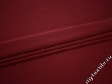 Трикотаж бордовый полиэстер АК711
