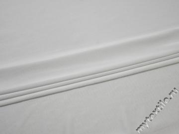 Трикотаж белый полиэстер АК79