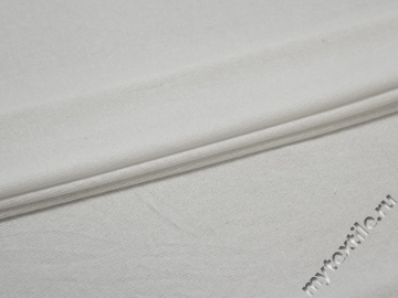 Трикотаж белый полиэстер АК77