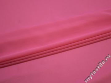 Шифон розовый полиэстер ГБ2173