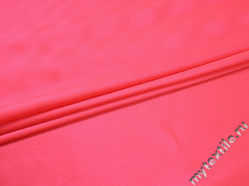 Креп-сатин розовый полиэстер ГБ1152