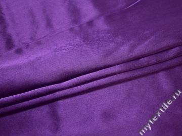 Креп-сатин фиолетовый полиэстер ГБ1167