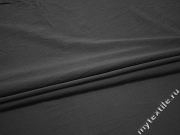 Трикотаж серый полиэстер АМ734