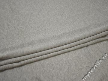 Трикотаж серый вискоза хлопок АМ49