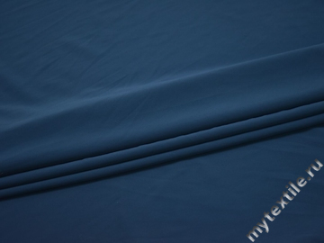 Бифлекс матовый синий полиэстер АИ337