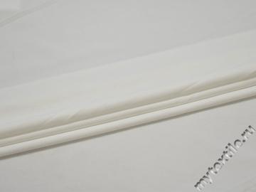 Трикотаж белый полиэстер АИ327