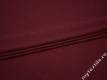 Трикотаж бордовый вискоза хлопок АЛ48