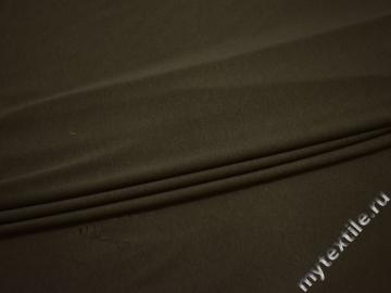 Трикотаж цвета хаки хлопок АИ74