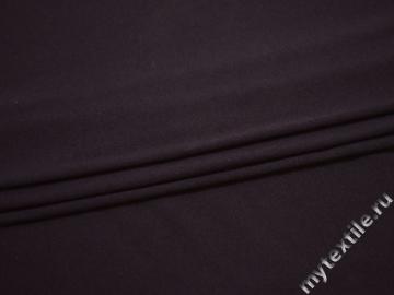 Трикотаж темно-сиреневый хлопок полиэстер АГ333