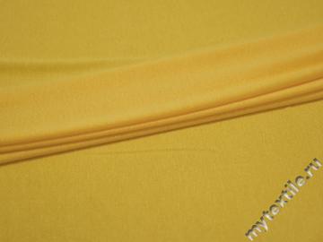 Трикотаж желтый вискоза хлопок АГ328