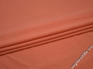Трикотаж оранжевый хлопок АГ313