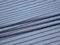 Рубашечная синяя голубая ткань полоска хлопок ЕБ414