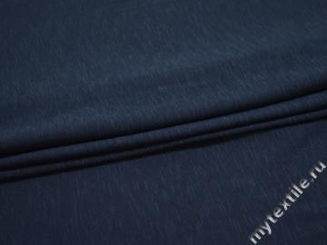 Трикотаж синий хлопок АЛ130