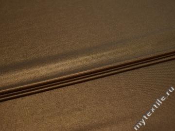 Трикотаж золотой полиэстер АЛ122