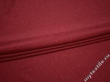 Трикотаж бордовый хлопок АЛ114
