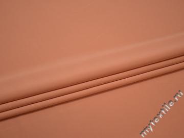 Трикотаж персиковый из вискозы АГ459