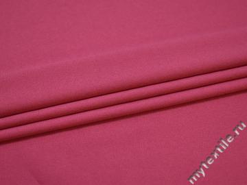 Трикотаж розовый полиэстер АГ442