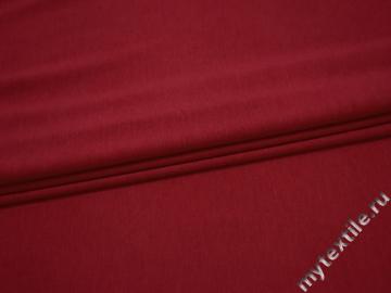 Трикотаж красный вискоза хлопок АГ423