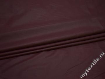 Курточная бордовая ткань полиэстер ДЁ3114