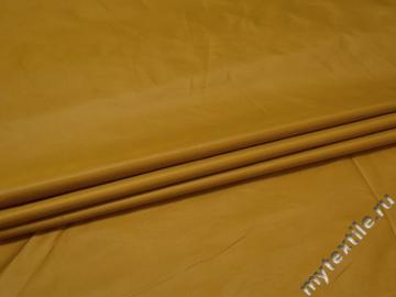 Курточная желтая ткань полиэстер ДЁ3108