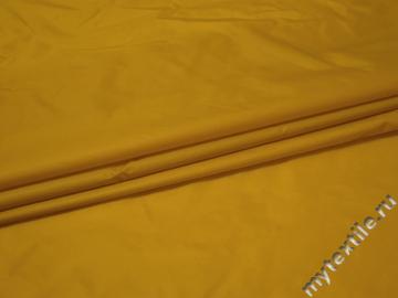 Курточная желтая ткань полиэстер ДЁ3107