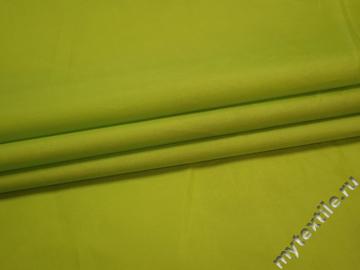 Плащевая салатовая ткань полиэстер ДЁ384