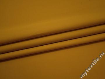 Плащевая желтая ткань хлопок полиэстер ДЁ377