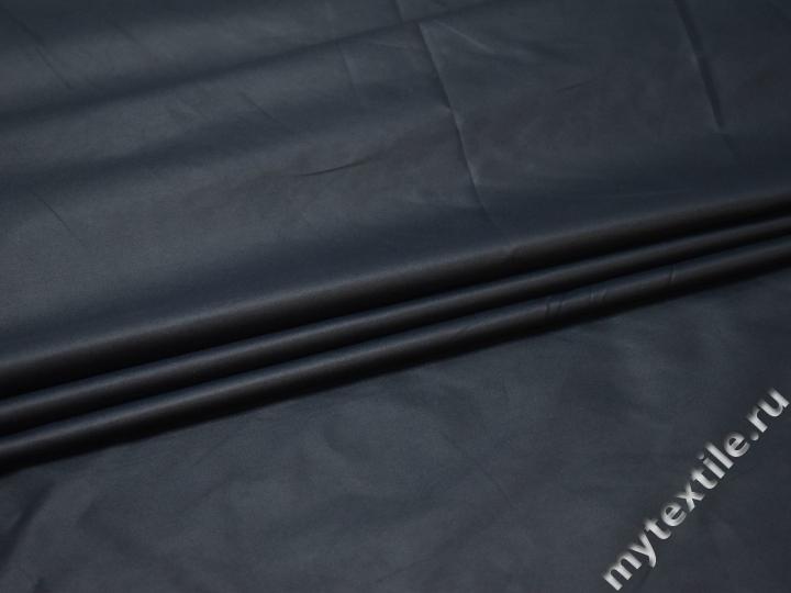 Курточная синяя ткань полиэстер ДЁ383