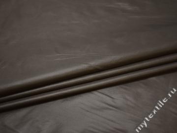 Курточная коричневая ткань полиэстер ДЁ380