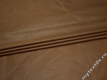 Курточная бежевая ткань полиэстер ДЁ348