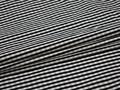Курточная темно-синяя белая ткань полоска полиэстер ДЁ310