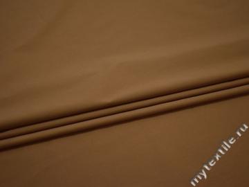 Хлопок с эластаном коричневый ЕБ538