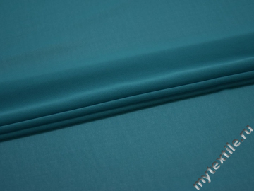Шифон синий полиэстер БД626