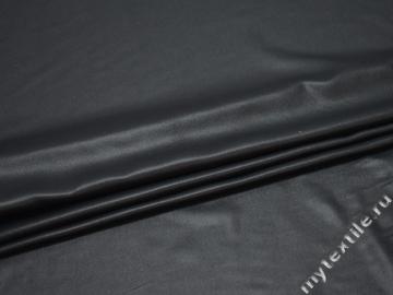 Шифон темно-серый полиэстер БЕ637